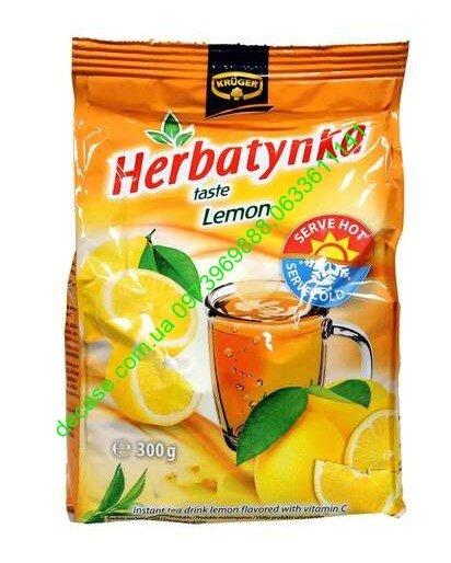 чай гранулированный растворимый с лимоном