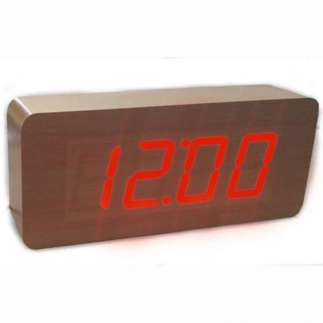 865 Часы Cube Wood 20*9*4.5sm