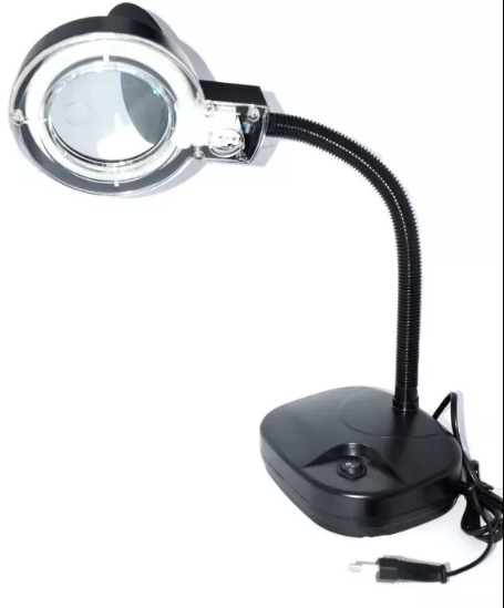 Лампа лупа настільна